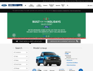 fordlouisville.com screenshot