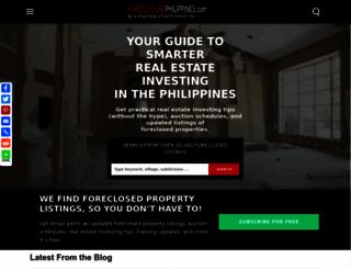 foreclosurephilippines.com screenshot