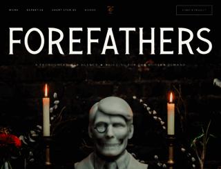 forefathersgroup.com screenshot