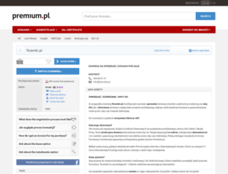 foremki.pl screenshot
