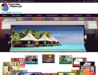 forest-litho.co.uk screenshot