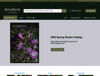 forestfarm.com screenshot