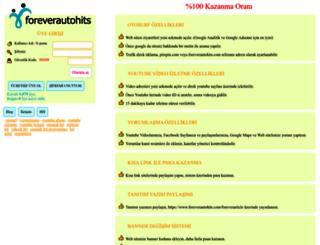 foreverautohits.com screenshot