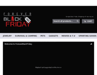 foreverblackfriday.link screenshot