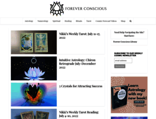 foreverconscious.com screenshot