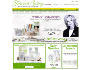 foreverspring.com screenshot