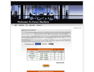 forex-markets.org screenshot