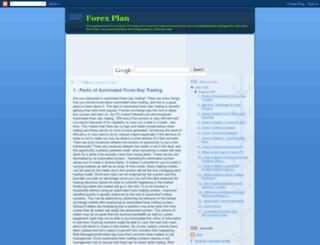 forex-plan.blogspot.com screenshot