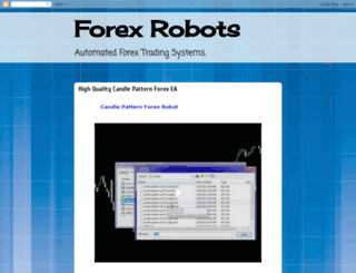 forex-robots-software.blogspot.com screenshot