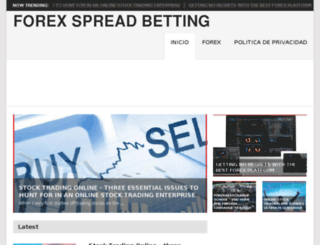 forex-spread-betting.com screenshot