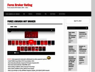 forexbrokerrating.net screenshot