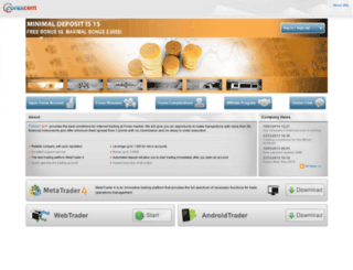 forexcent.com screenshot