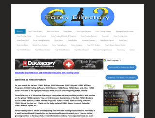 forexdirectory.jimdo.com screenshot