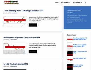 forexed.com screenshot