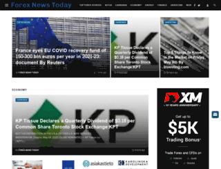 forexnewstoday.info screenshot