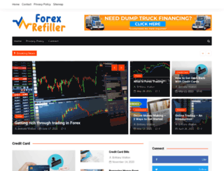 forexrefiller.com screenshot