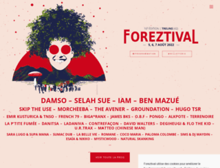 foreztival.com screenshot