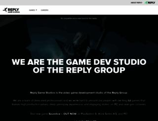 forgereply.com screenshot