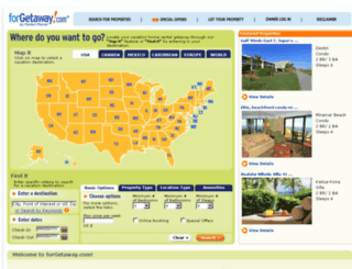 forgetaway.com screenshot