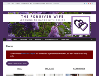 forgivenwife.com screenshot