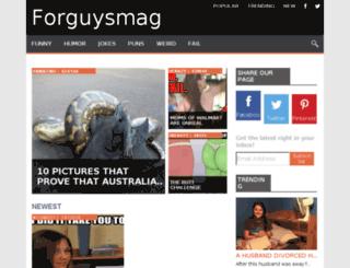 forguysmag.net screenshot