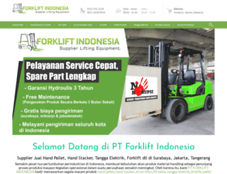 forkliftindonesia.com screenshot