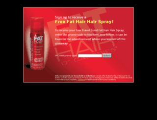 form.fat-hair.com screenshot