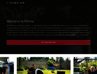 formagym.com screenshot