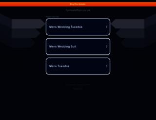 formalaffair.co.uk screenshot