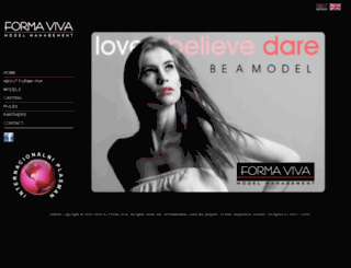 formavivamodels.rs screenshot