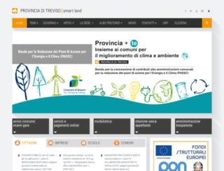 formazione.provincia.treviso.it screenshot