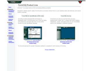 formcliq.com screenshot