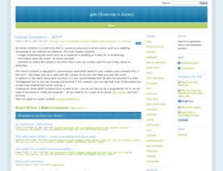 formlogix.wordpress.com screenshot