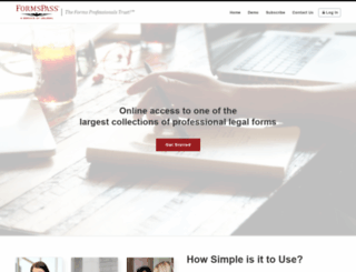 formspass.com screenshot