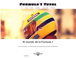 formula1total.com screenshot