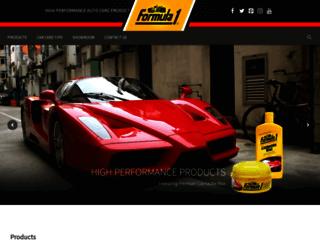 formula1wax.com screenshot