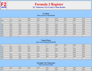 formula2.net screenshot