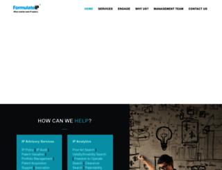 formulateip.com screenshot
