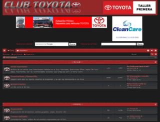 foro.club-toyota.com.ar screenshot