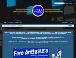 foroantiusura.org screenshot