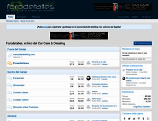 forodetalles.com screenshot