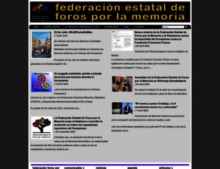 foroporlamemoria.info screenshot