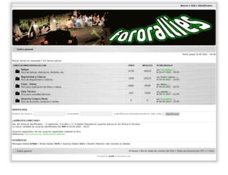 fororallies.com screenshot