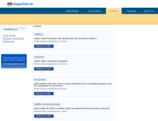 foros.uruguaytotal.com screenshot
