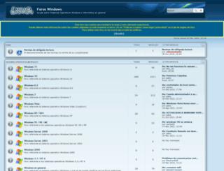 foroswindows.com screenshot
