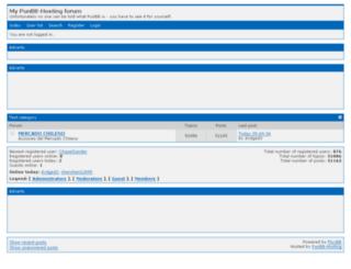 forovivirdeltrading.punbb-hosting.com screenshot