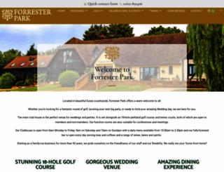 forrester-park.co.uk screenshot