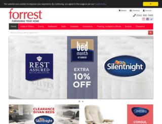 forrestonline.co.uk screenshot