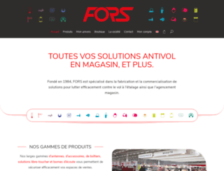 fors.fr screenshot