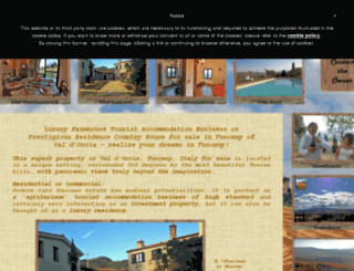 forsaleintuscanyvaldorcia.co.uk screenshot